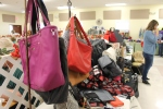 Thirty-One Vendor Booth in Fellowship Hall