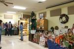 Craft vendors in Fellowship Hall